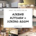 An Airbnb Kitchen