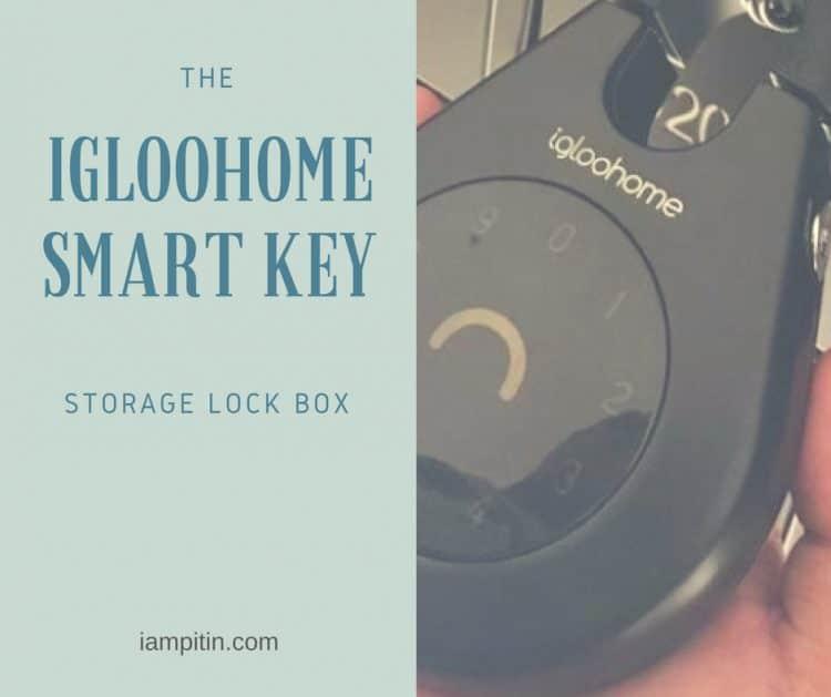 The Igloohome Smart Key Storage Lockbox