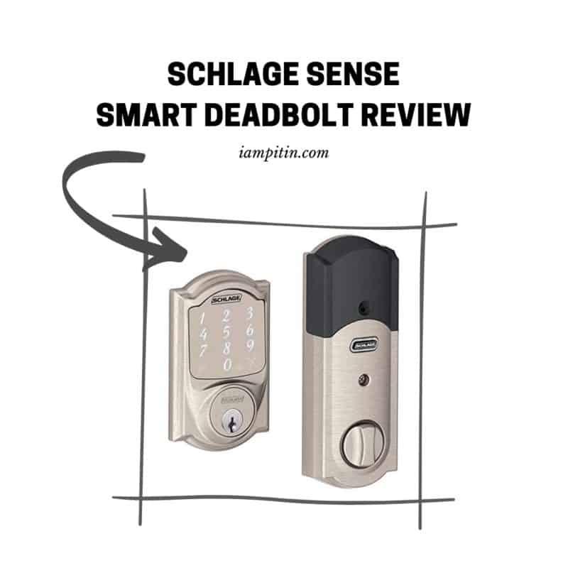 The Schlage Sense Smart Deadbolt